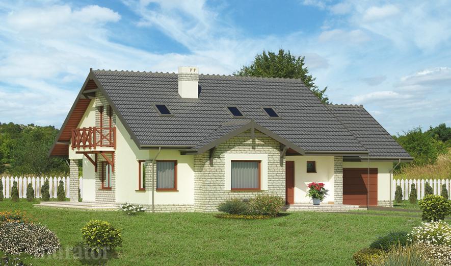 C184a Dom na górce - wariant I