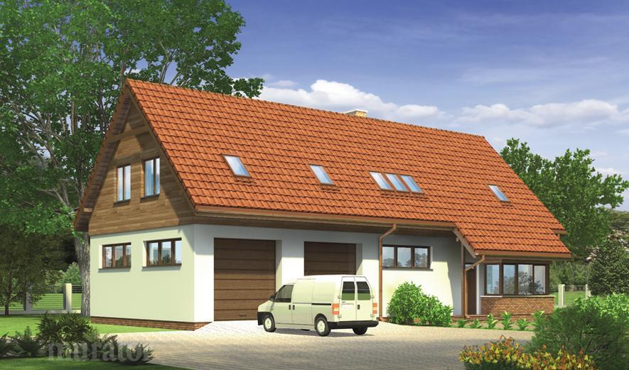 GM07 Budynek garażowo-magazynowy z poddaszem mieszkalnym